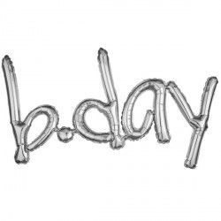 """B.Day"" Freestyle Silver Phrase"