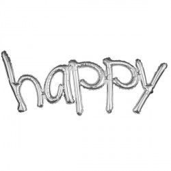 """Happy"" Freestyle Silver Phrase"