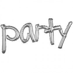 """Party"" Freestyle Silver Phrase"
