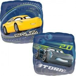 "18"" CARS 3 STORM & CRUZ SQUARE"