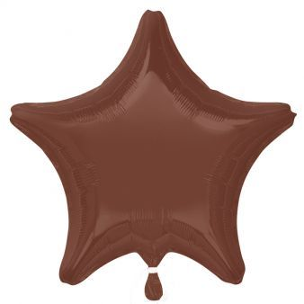 "18"" Chocolate Brown Decorator Star"