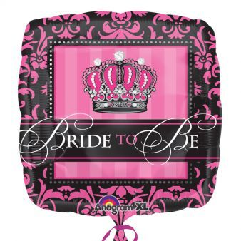"18"" Crowned Bride to Be"