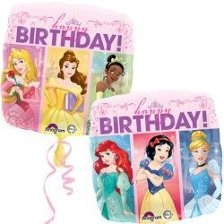 "18"" DISNEY PRINCESS DREAM BIG HAPPY BIRTHDAY"