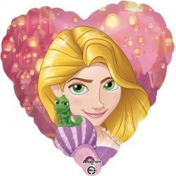 "18"" DISNEY PRINCESS RAPUNZEL HEART"