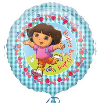 "18"" Dora the Explorer Happy Birthday"