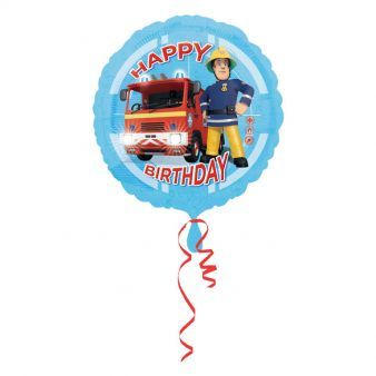 "18"" Fireman Sam Happy Birthday"