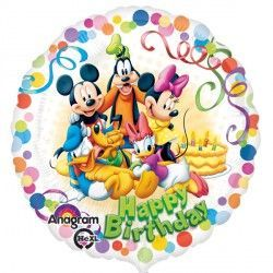 "18"" MICKEY MOUSE & FRIENDS PARTY BIRTHDAY"