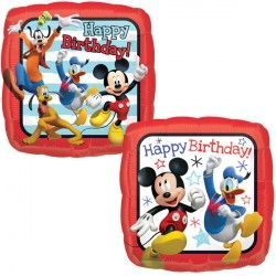 "18"" MICKEY MOUSE ROADSTER HAPPY BIRTHDAY"