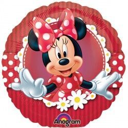 "18"" MINNIE MOUSE MAD ABOUT MINNIE"