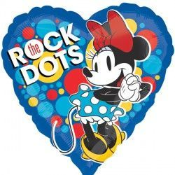 "18"" MINNIE MOUSE ROCK THE DOTS"