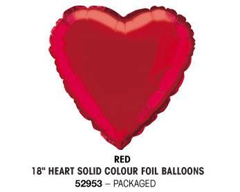 "18"" RED HEART PACKAGED"