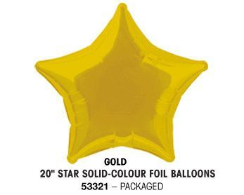 "20"" GOLD STAR PACKAGED"