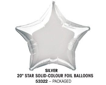 "20"" SILVER STAR PACKAGED"