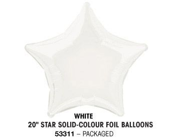 "20"" WHITE STAR PACKAGED"