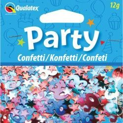 AGE 30 MULTI-COLOURED BIRTHDAY CONFETTI 12G (1CT X 6 PACKS)