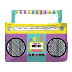 "AWESOME PARTY BOOMBOX SHAPE P35 PKT (27"" x 22"")"