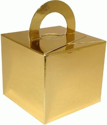 Balloon/Gift Box Gold