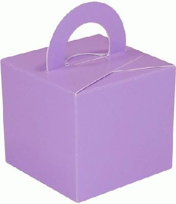 Balloon/Gift Box Lavender