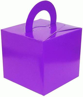 Balloon/Gift Box Purple