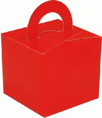 Balloon/Gift Box Red
