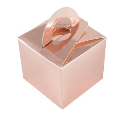 Balloon/Gift Box Rose Gold