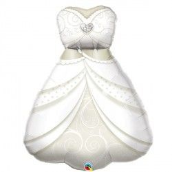"BRIDE'S WEDDING DRESS 38"" SHAPE GROUP C PKT"