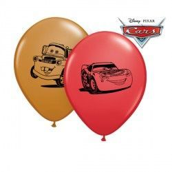"CARS LIGHTNING MCQUEEN & MATER 5"" RED & MOCHA BROWN (100CT)"