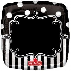 Chalkboard Birthday Party SuperShape XL Write-on