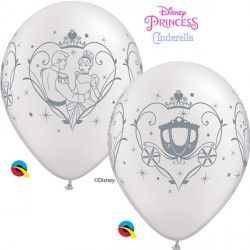 "CINDERELLA & PRINCE CHARMING 11"" PEARL WHITE (25CT)"