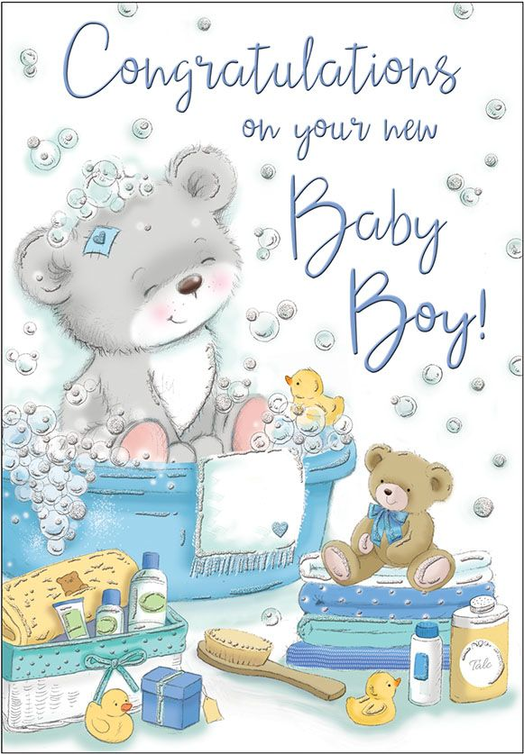 congratulations on your baby boy