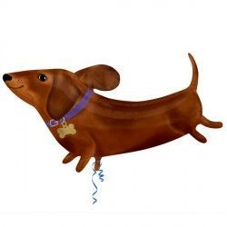 DACHSHUND STREET TREAT SHAPE FLAT