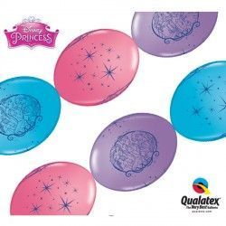 "DISNEY PRINCESS QUICK LINK 12"" PINK, PURPLE VIOLET & WILD BERRY (50CT)"