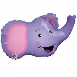 "ELATED ELEPHANT 14"" MINI SHAPE FLAT"