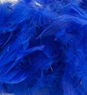 Eleganza Feathrs Mixed sizes 3inch-5inch 50g bag Royal Blue No.18