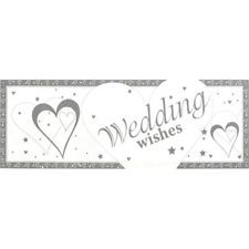 FOIL GIANT BANNER WEDDING WISHES