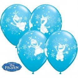 "FROZEN OLAF DANCING 11"" ROBIN'S EGG BLUE (25CT)"
