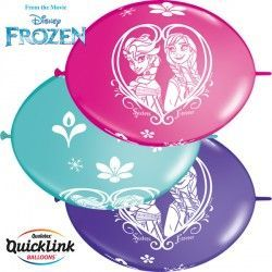 "FROZEN QUICK LINK 12"" PURPLE VIOLET, WILD BERRY & CARIBBEAN BLUE (50CT)"
