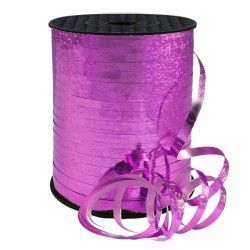 FUCHSIA 5MM HOLOGRAPHIC RIBBON 500M