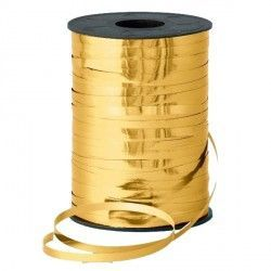 GOLD 5MM METALLIC RIBBON 500M