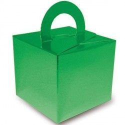 GREEN METALLIC BOUQUET BOX 10CT
