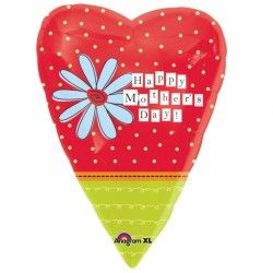 HEART HAPPY MOTHER'S DAY JUNIOR SHAPE STANDARD S40 PKT
