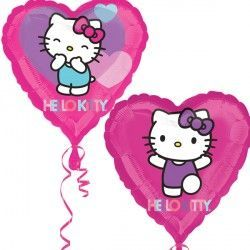 HELLO KITTY HEART STREET TREAT STANDARD FLAT