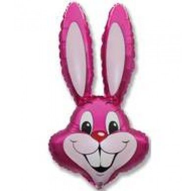 Jumbo Pink Rabbit Balloon
