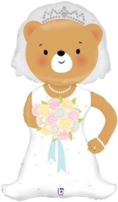 Linky Bride Bear 43inch (J)