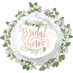 "LOVE & LEAVES BRIDAL SHOWER SHAPE P35 PKT (30"" x 28"")"