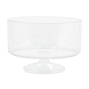 Medium Clear Plastic Trifle Containers 19cm
