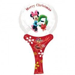 MINNIE CHRISTMAS INFLATE A FUN A05 PKT