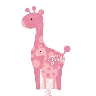 Mom & Baby Pink Giraffes SuperShape XL