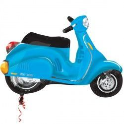 MOTOR SCOOTER BLUE STREET TREAT SHAPE FLAT