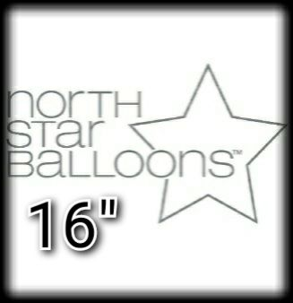 "North Star 16"" Letter Foil Balloons"
